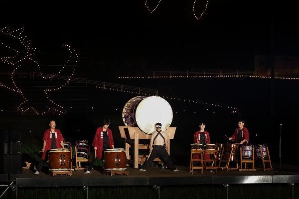 小田寺村・山ノ神火祭 150815 06