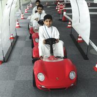 子供たちの運転教習