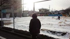 ドカ雪の日 母1