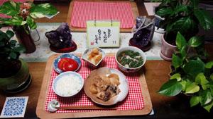 晩ご飯 ブリと大根の煮付け ほろふき大根 鯛