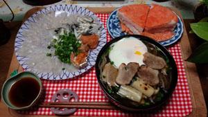 年越し蕎麦・ふくさし・鱒寿司!