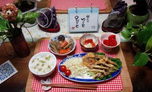 野菜お魚しっかり料理