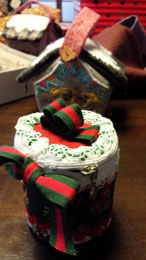 クリスマスBOXをアレンジして