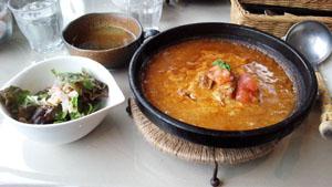 カレー&サラダスープ