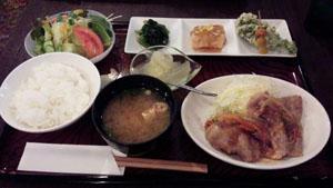 フォレ 豚生姜焼き