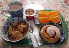 ちょい早 朝ご飯