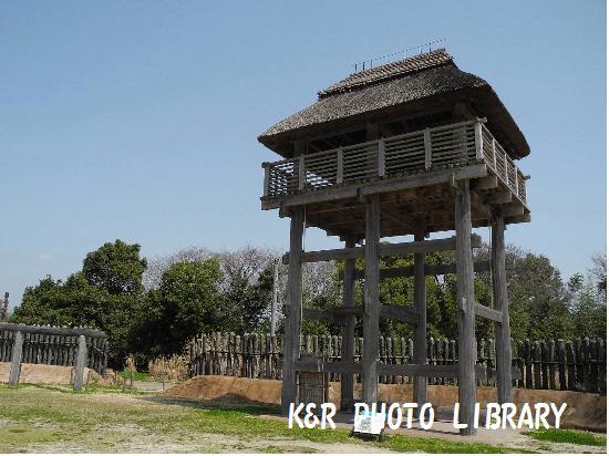 3月21日南内郭の物見櫓1