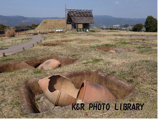 3月21日甕棺墓列2