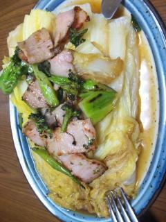 白菜ステーキ