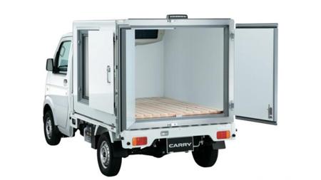 軽トラの冷凍車