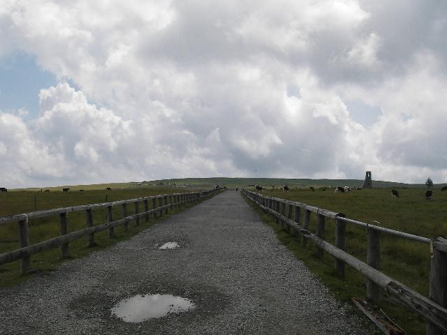 美しの塔への道