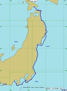 2014年航跡図-第7レグ