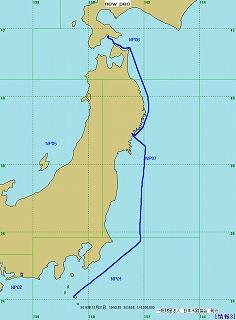 2014年航跡図-第6レグ