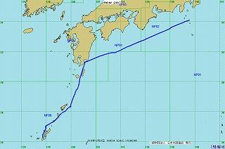 2014年航跡図-第5レグ