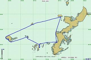2014年航跡図-第4レグ