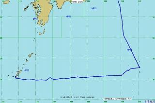 2014年航跡図 - 第2レグ