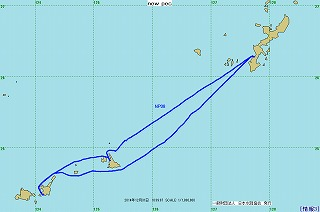 2014年航跡図-第3レグ