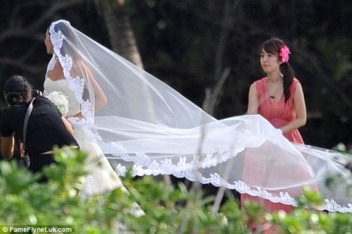 F1ジェンソン・バトンと道端ジェシカさん結婚7