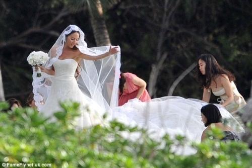 F1ジェンソン・バトンと道端ジェシカさん結婚6