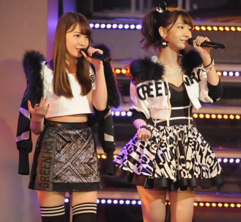 【AKB48】ゆきりんこと柏木由紀、9年目で初センター  こじはると2人体制で新曲「Green Flash」初披露1