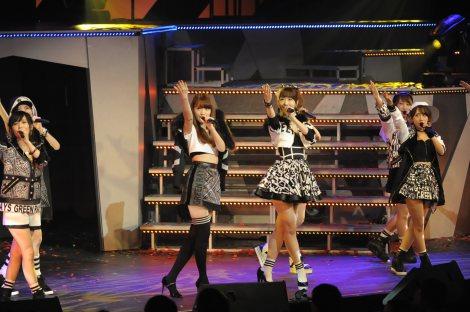 【AKB48】ゆきりんこと柏木由紀、9年目で初センター  こじはると2人体制で新曲「Green Flash」初披露2