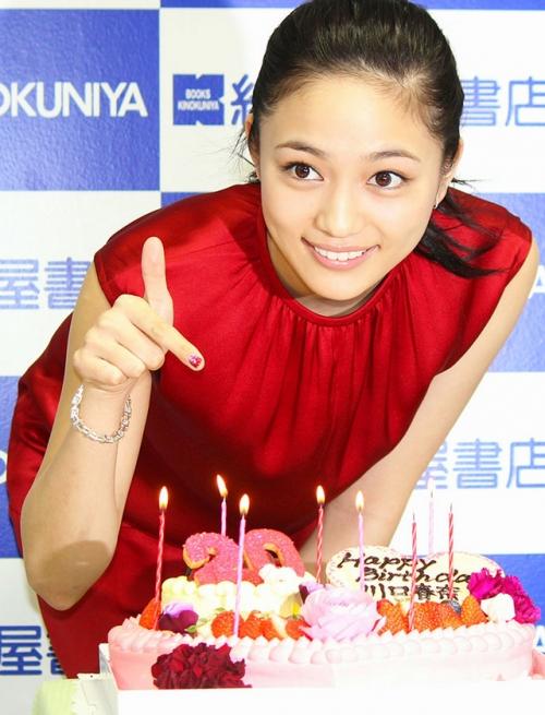 川口春奈、20歳の抱負を語る「海外でお芝居するのがすっごい夢」…写真集「haruna3」発売記念イベント1