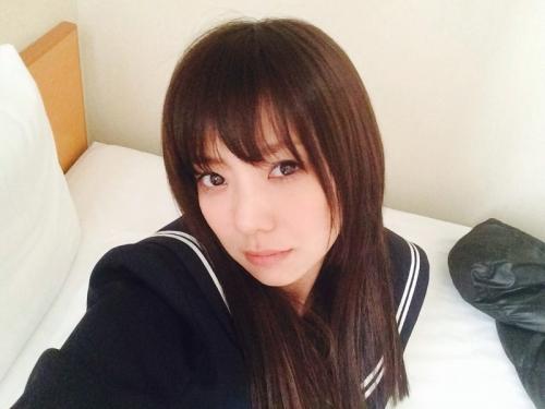 倉科カナ(27)のセーラー服姿が可愛いと話題1