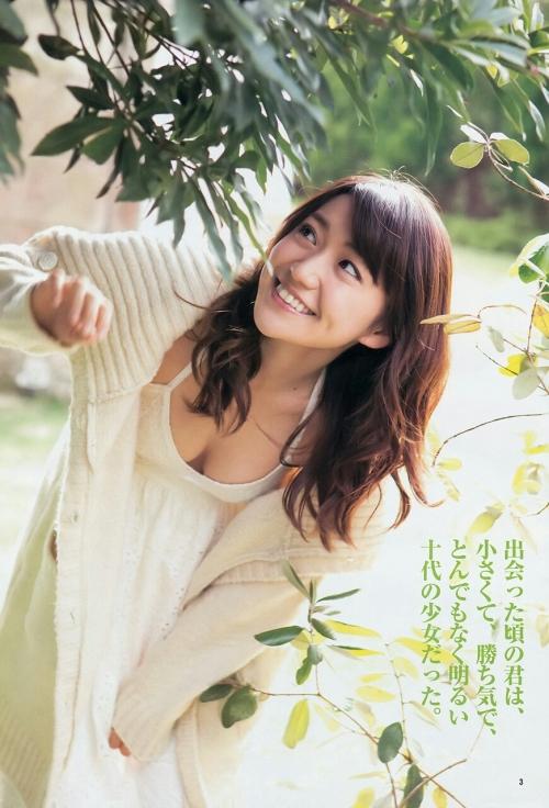 大島優子 新CMで重さ4キロのダンベル軽々と扱う6