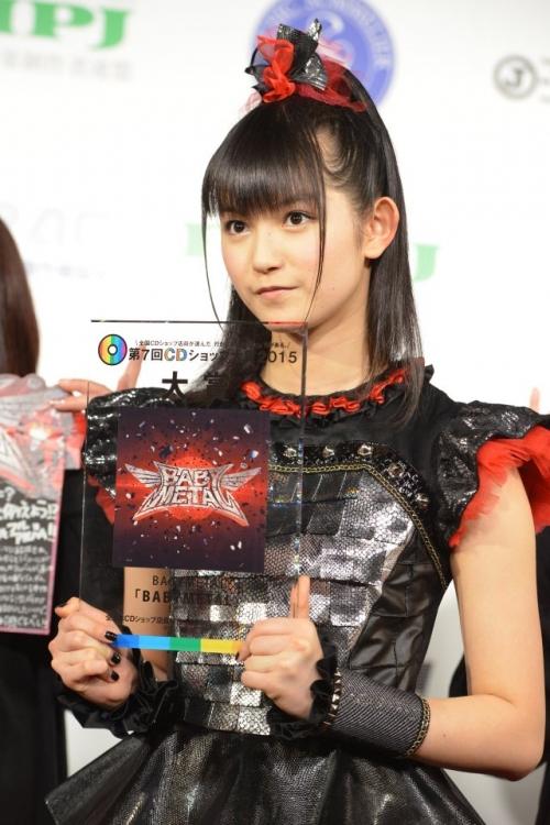 CDショップ大賞に「BABYMETAL」 SU-METAL「すごくドキドキ」4