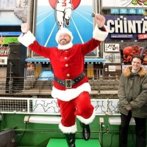 元阪神 ランディ・バースさん、道頓堀でクリスマスイベントに参加「来年こそ阪神が日本一になってほしい」