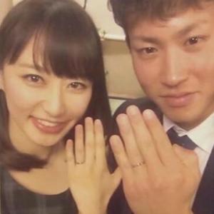 TBS枡田絵理奈アナウンサーが「いっぷく!」で広島の堂林翔太内野手と結婚した事を生報告。来春退社して広島に住むことを発表した。