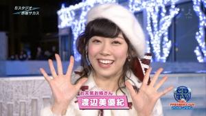 NMB48みるきーこと渡辺美優紀 高熱40度が出る中、紅白歌合戦とCDTV生出演し体調不良でダウン
