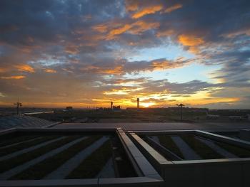 朝方の景色