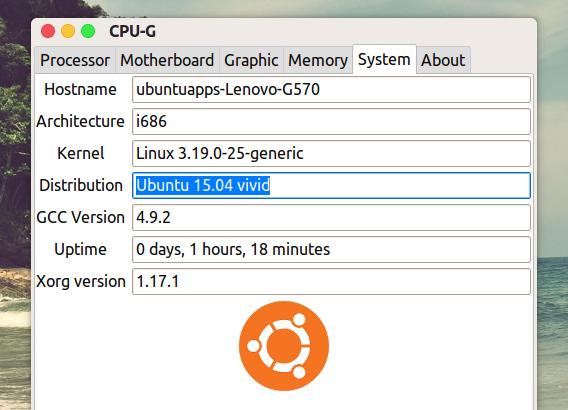 CPU-G 0.11 Ubuntu 15.04 インストール