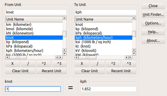ConvertAll Ubuntu 単位変換 使い方