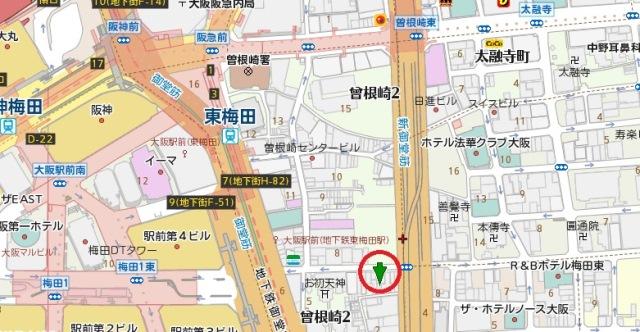 KIYOビルディング地図
