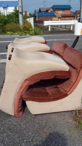 廃棄ソファー