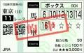 2015 東京新聞杯 馬単