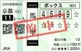 2015 京都記念 馬単
