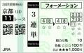 2015 京都記念 3連単