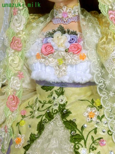 ノーサセレッシュ女神胸元