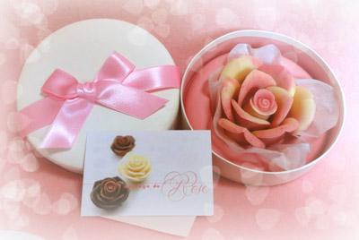 バラのチョコレート全体