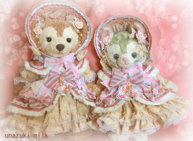 姫&ジェラボンネットドレス