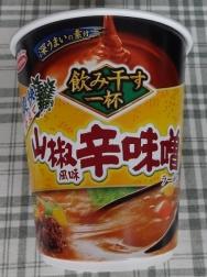 飲み干す一杯 山椒風味 辛味噌ラーメン 88円