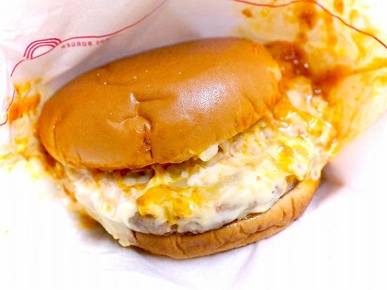 リッチモスチーズバーガー ゴルゴンゾーラチーズソース02@MOS BURGER