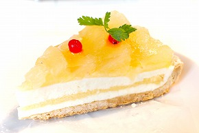 レアチーズとグレープフルーツ02@MACARONI MARKET(マカロニ市場) 松戸店 2015年02月