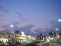 夕闇迫る松本駅