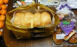 食パンと菓子パン20141228