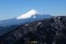イタツミ尾根から富士山