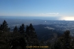 大山山頂から南・南東の展望